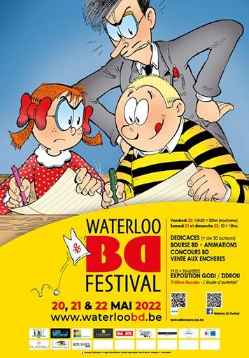 Waterloo BD Festival : l'affiche